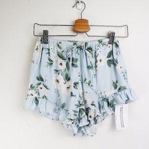NWT Yumi Kim Matchmaker Pajama Shorts Primrose XS
